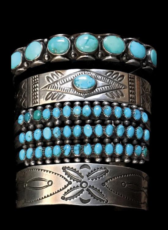 Turquoise : Bijoux Anciens du Sud-Ouest Américain