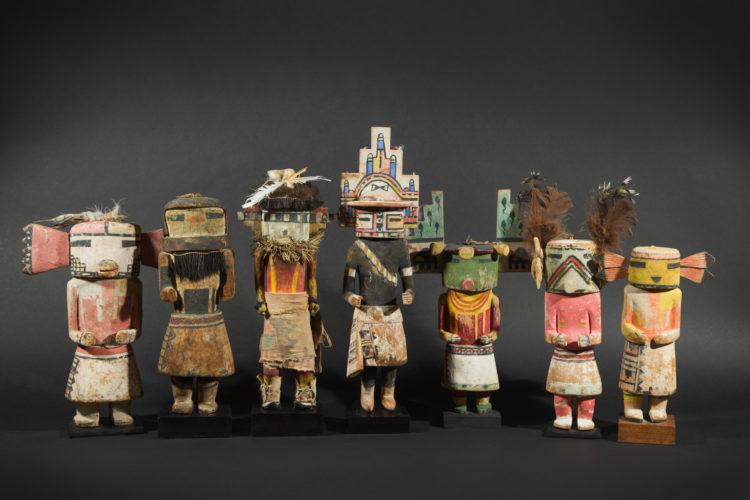Poupées Kachina des Indiens Hopi